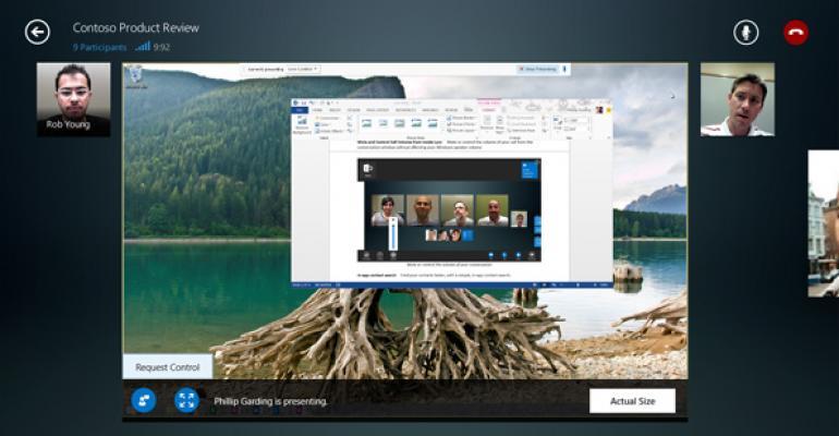 Microsoft Lync App Updated for Windows 8.1