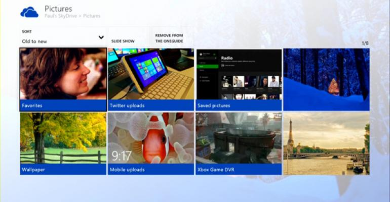 Xbox One: SkyDrive