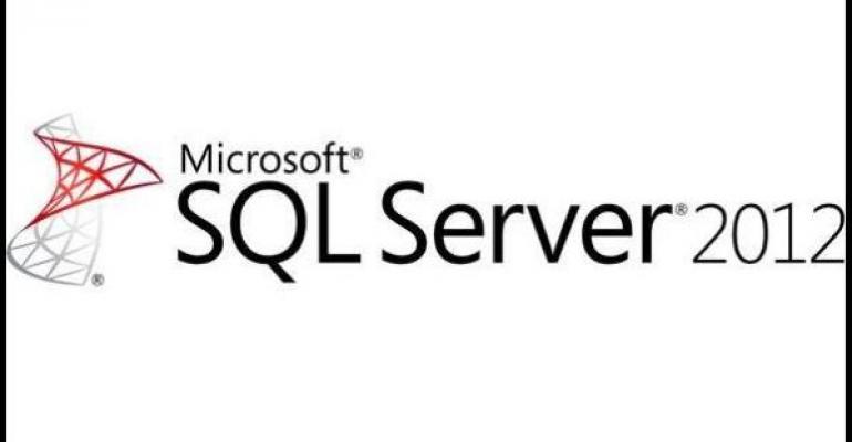 Microsoft SQL Server 2012 logo