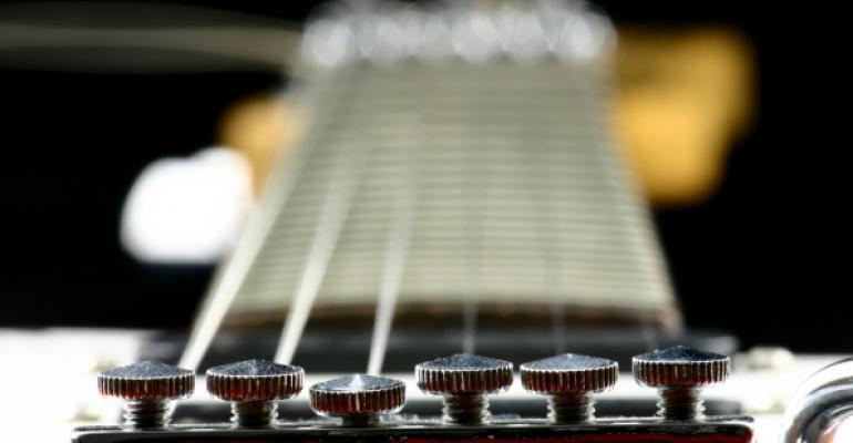 guitar strings representing finetuning