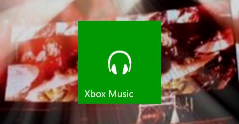 Xbox One: Xbox Music