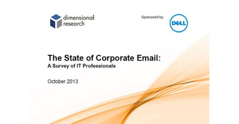The State of Corporate Email and the Cloud