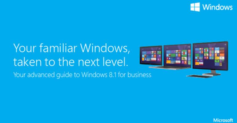 Microsoft Relents, Offers Up New Windows 8.1 Guide for the Desktop