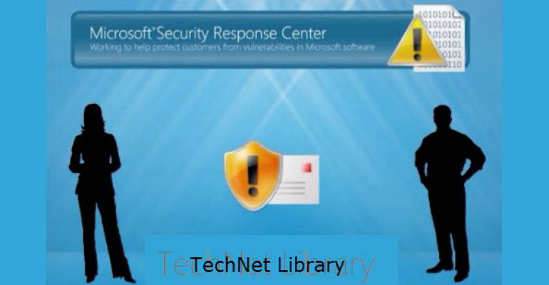 Microsoft Security Bulletins and Advisories Merging with the TechNet Library