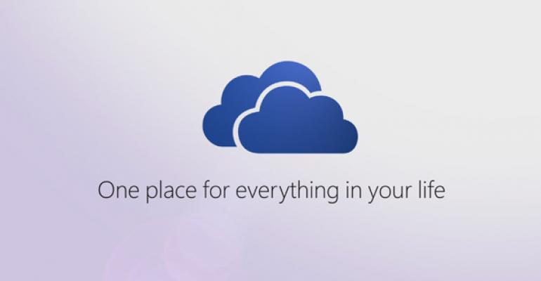 SkyDrive Becomes OneDrive