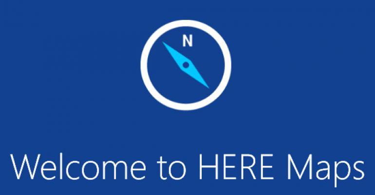 HERE Maps for Windows 8.1