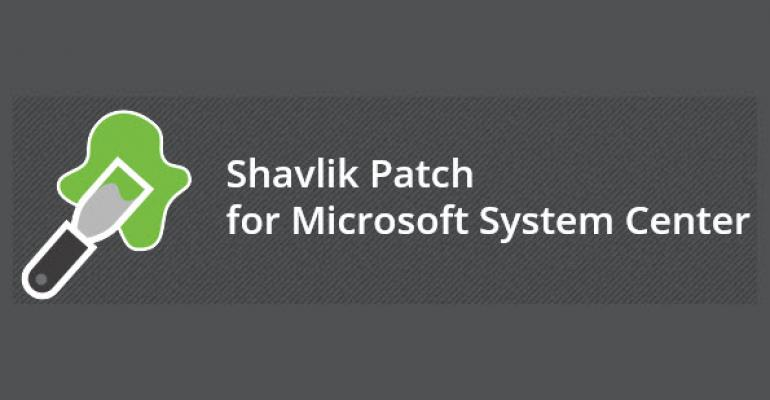 Shavlik Renames SCUPdates, Adds Features for Patching with ConfigMgr 2012