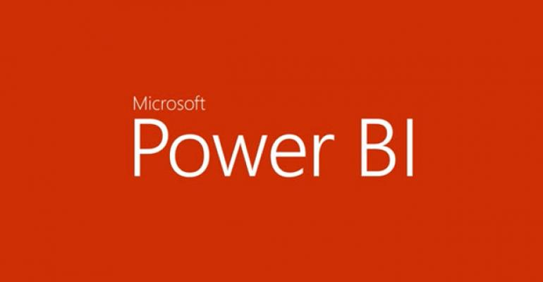 Microsoft's Power BI for Office 365 Generally Available