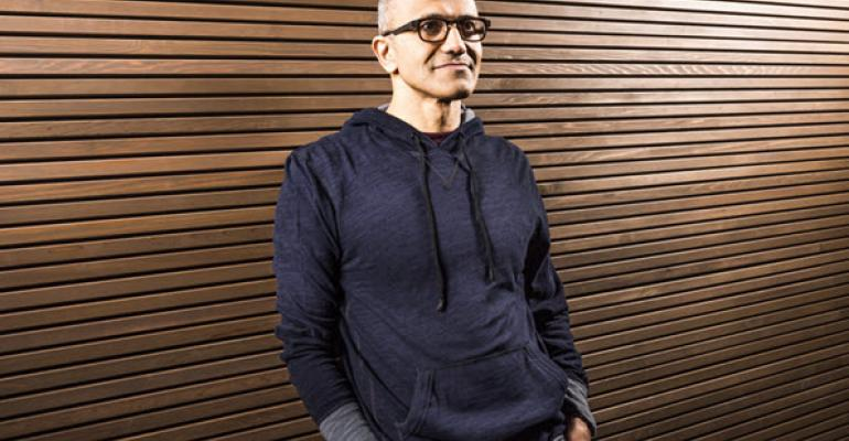 Satya Nadella Gets His Own CEO Glory Page, Better Than Brad's