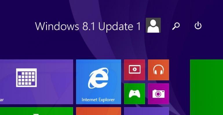 Windows 8.1 Update 1 to Release April 8th Through Windows Update