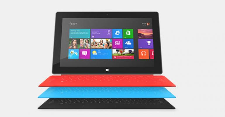Free Touch Cover with a Surface Purchase Until Saturday