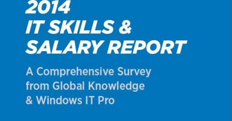 The State of the IT Industry: 2014 Skills and Salary Survey