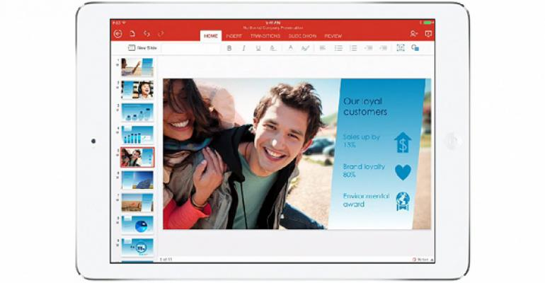 Office for iPad: Work with Local Documents
