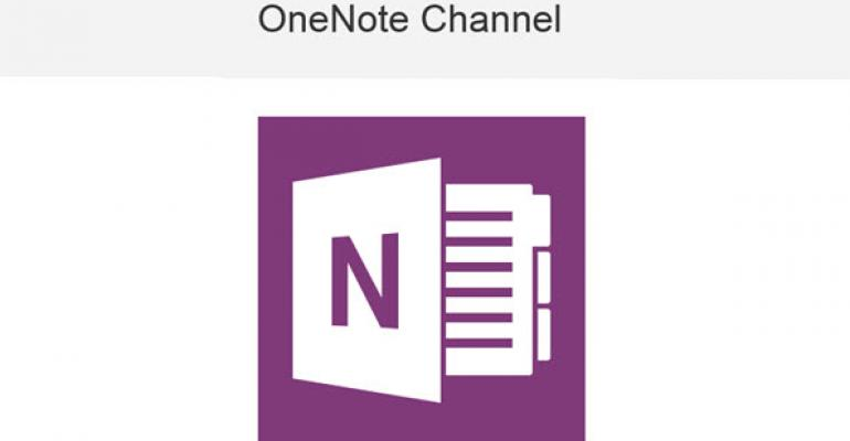 Automating OneNote Actions Using IFTTT