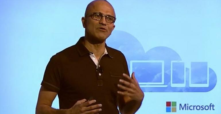 Deemphasizing Windows, Microsoft CEO Kicks-off Announcements for Office for iPad and EMS