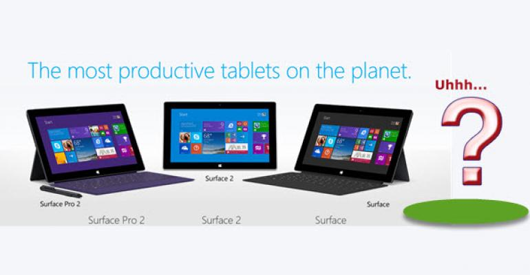 Surface Pro Disappears from Microsoft Online Store