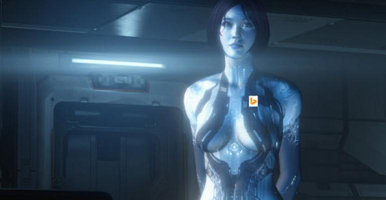 Bing Gives Clues to Cortana Launch