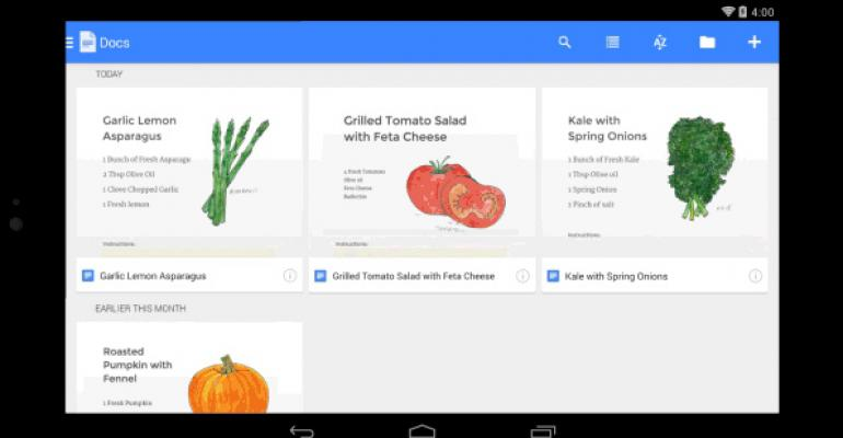 Google Preempts Office for Android by Releasing Apps of Its Own