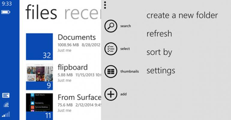 OneDrive Update for Windows Phone 8.1 Fixes All My Gripes