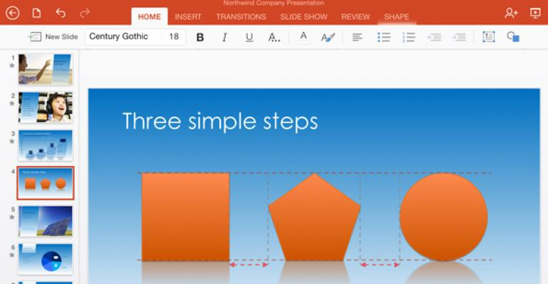 Office for iPad Gets Printing Support, More
