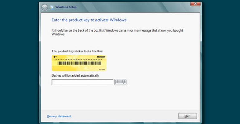 Installing Windows 8.1 Using Only Your Product Key