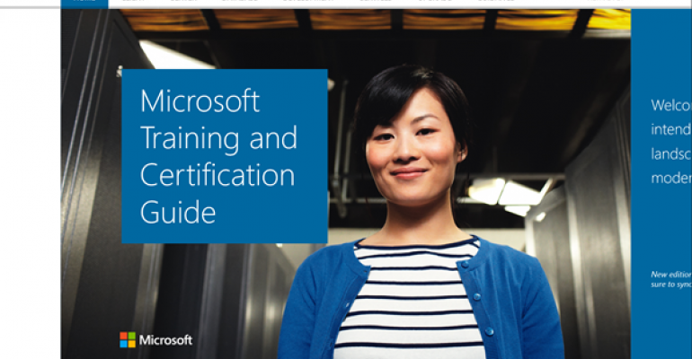 Microsoft Training and Certification Guide App for Windows 8