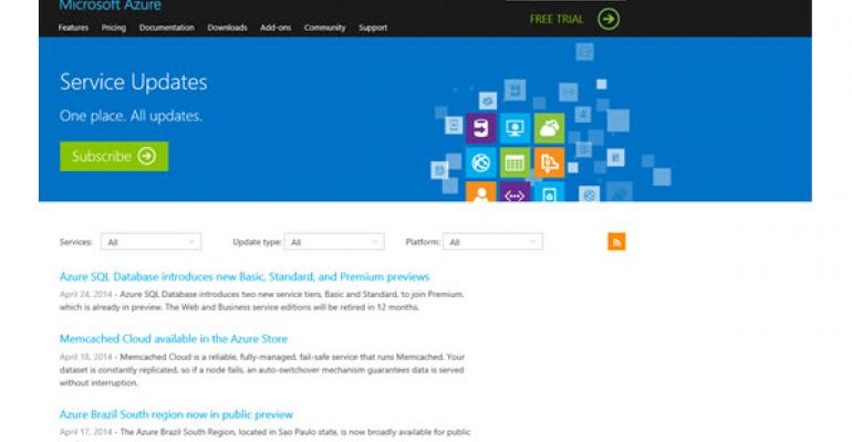 Keep Tabs on Microsoft Azure with Customizable Feeds