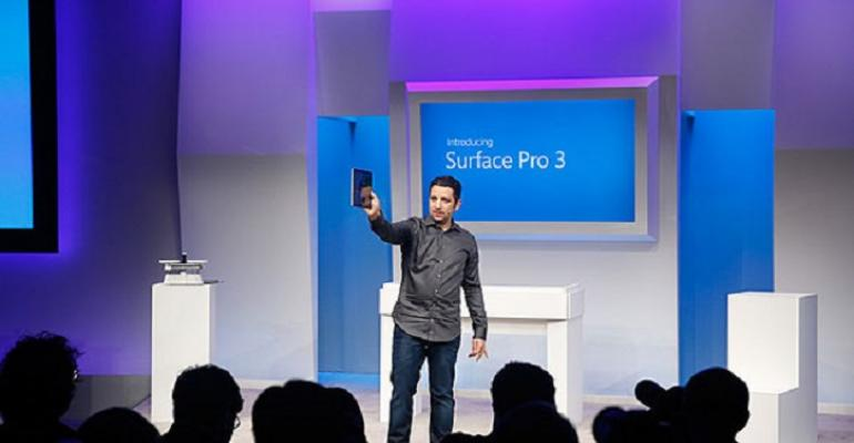 Microsoft Launches Larger Surface Pro 3