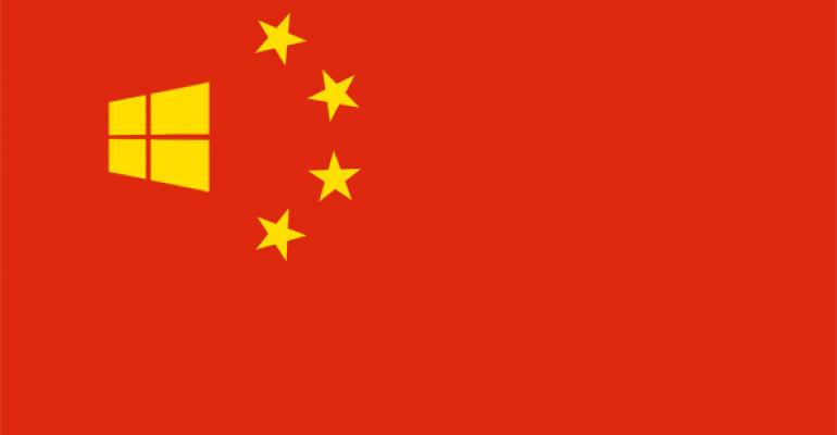 China Bans Windows 8 on Governmental Computers