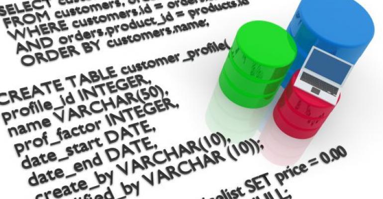 SQL database code