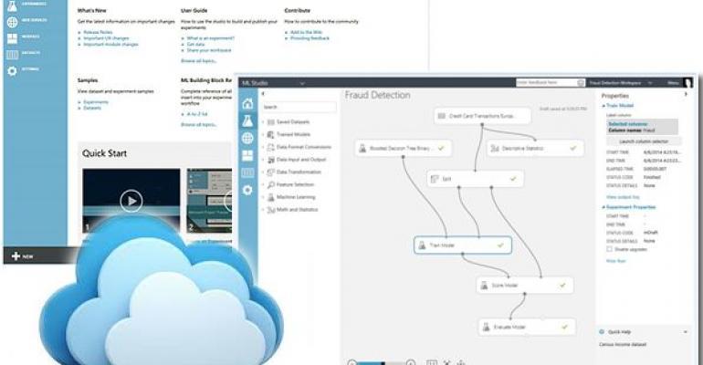 Microsoft Azure Machine Learning screenshot