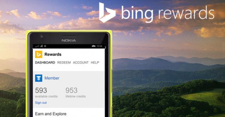 Bing Rewards for Windows Phone 8/8.1