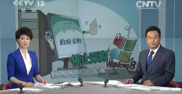 China versus Microsoft