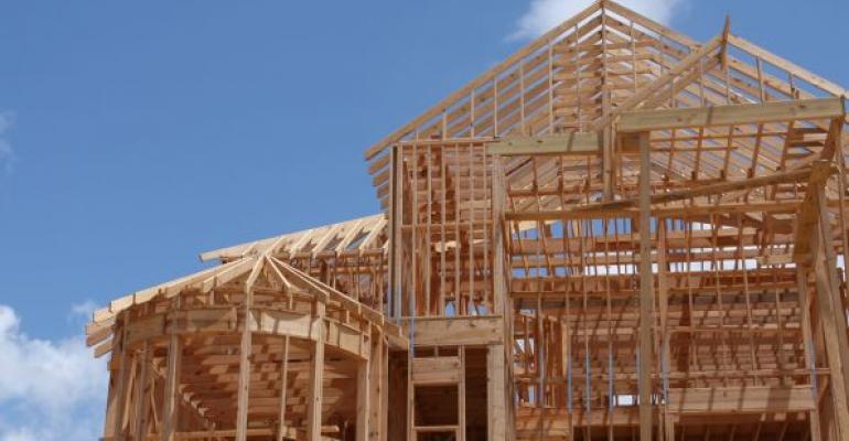 Wooden house framwork