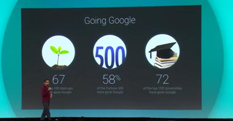 Google's Cloud Launches at I/O 2014