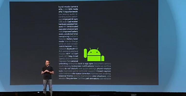 Google I/O 2014: Android Takes the L