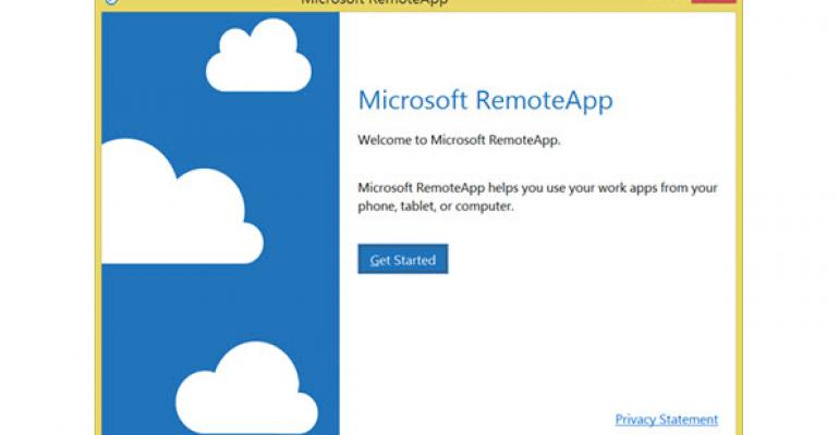 Microsoft Azure RemoteApp Now Works for Windows RT Devices
