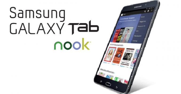 Nook + Samsung