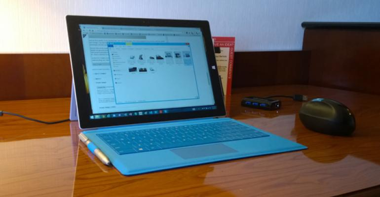 Surface Pro 3: On the Road