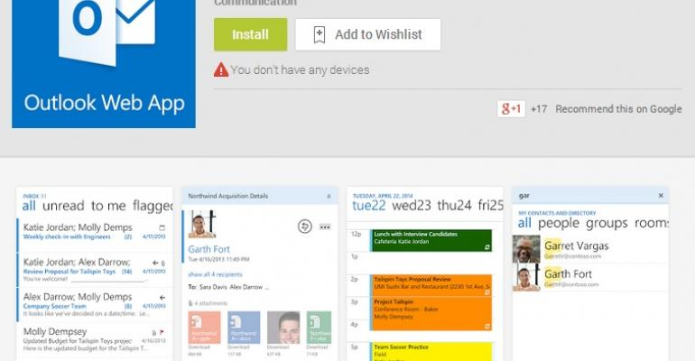 OWA for Android debuts but leaves on-premises customers waiting