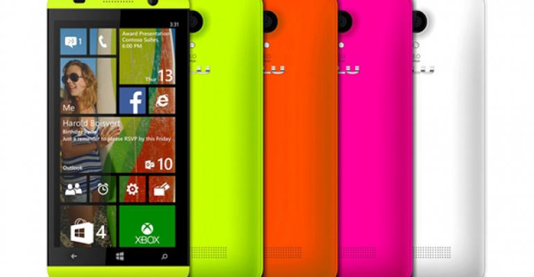 Previewing the New Windows Phone 8.1 Handsets
