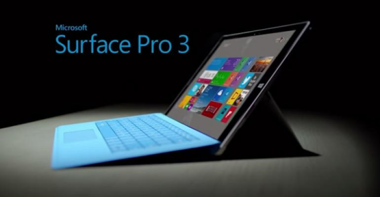 First Surface Pro 3 Ad Appears