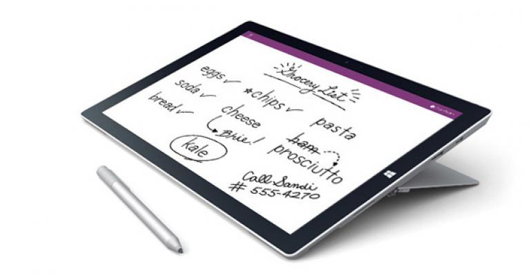 Surface Pro 3 Tip: Configure Which OneNote to Use with Pen