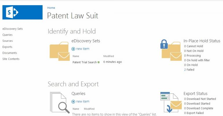Another opportunity for automation in eDiscovery for SharePoint 2013 and Exchange 2013