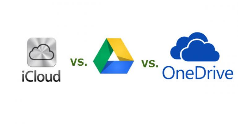 Choosing Online Storage by Cost and Capacity