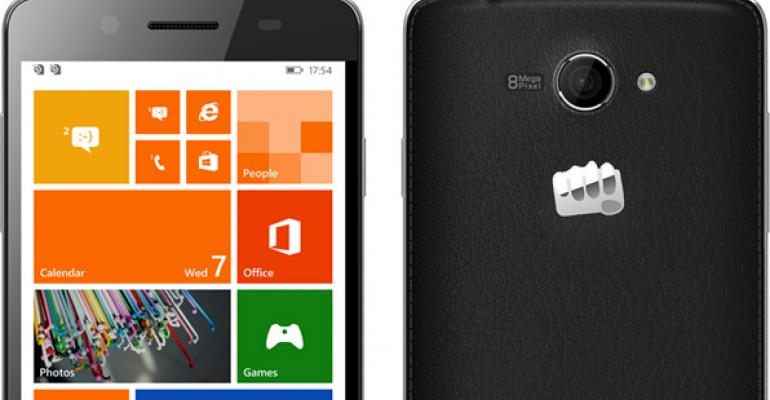 Micromax's First Windows Phone Handsets are Heading to India in July