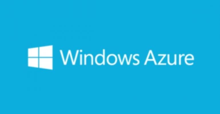 Windows Azure logo