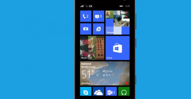 Windows Phone 8.1 Was Going to Include a Folders Feature