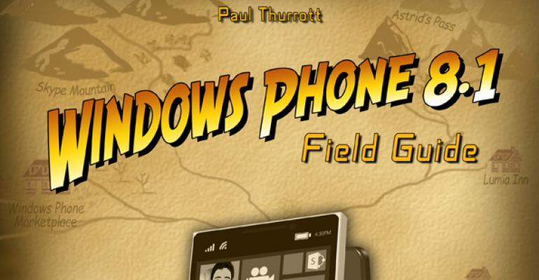 """Introducing """"Windows Phone 8.1 Field Guide"""""""