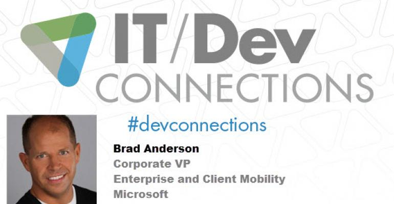 IT/Dev Connections 2014 Welcomes Microsoft Corporate VP Keynoter, Brad Anderson!